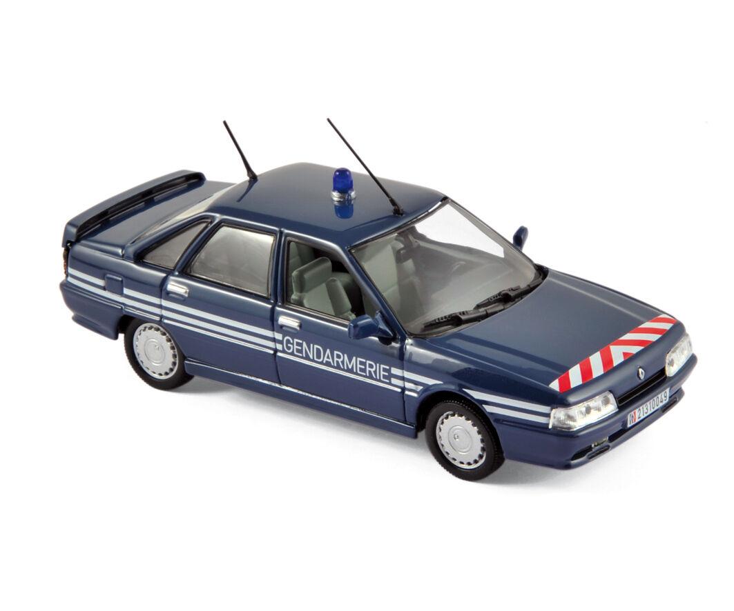 NOREV 512116 - Renault 21 Turbo 1989 Gendarmerie 1 43