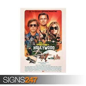 ONCE-UPON-A-TIME-IN-HOLLYWOOD-TARANTINO-ZZ066-MOVIE-POSTER-Poster-Print