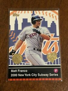 2000-World-Series-Topps-Baseball-Base-Card-11-Matt-Franco-New-York-Mets