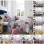 Patchwork-Acolchado-Colcha-Cobertor-Vintage-Floral-Ropa-De-Cama-Simple-Doble-King-Size miniatura 1