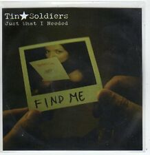 (FF730) Tin Soldiers, Just What I Needed - 2011 DJ CD