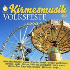 CD Kirmesmusik  Volksfeste von Diverse Interpreten 2CDs
