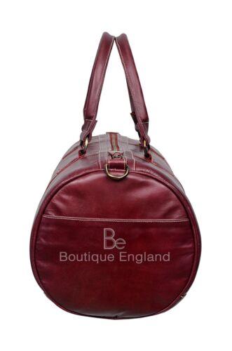 Holdall Stylish LeatherWeekend Duffel Travel Gym 100 /% Real Leather Bag
