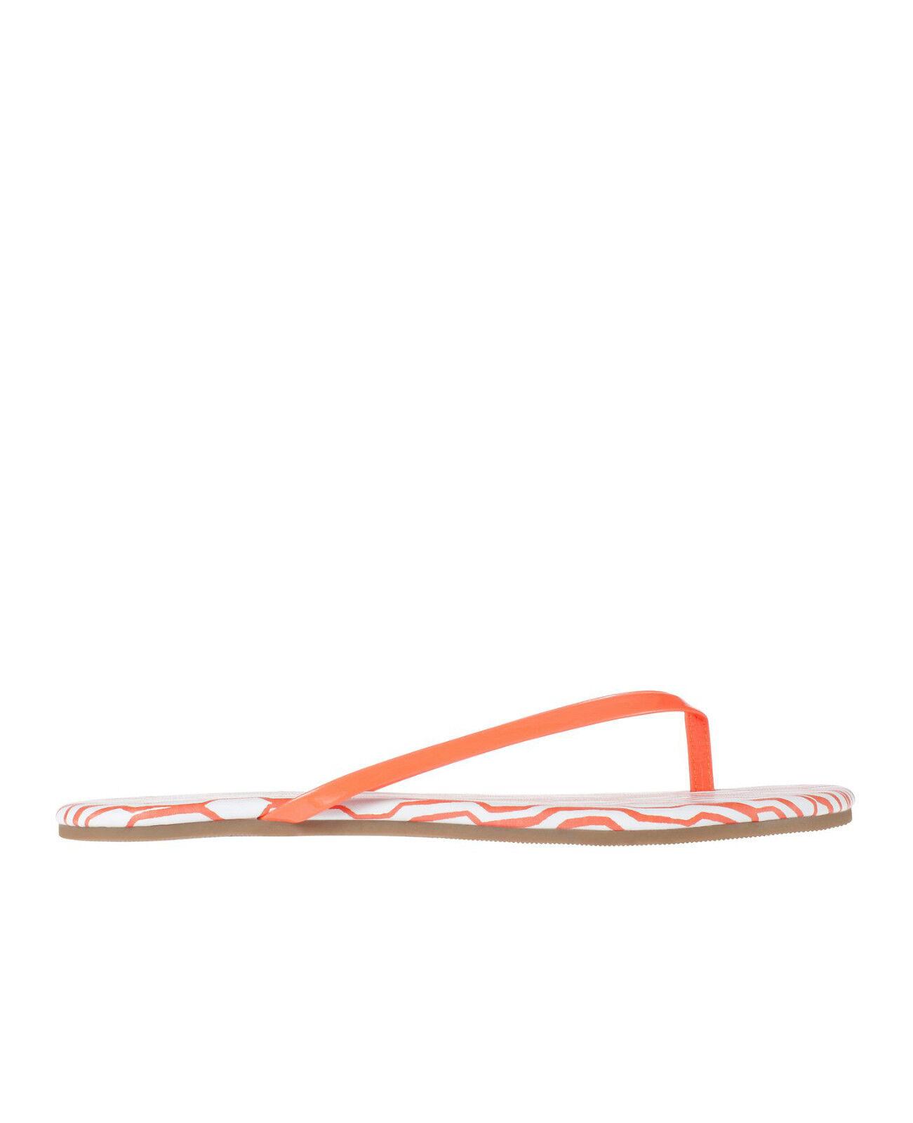 Brand Flops NEW Ann Taylor Kellen Flip Flops Brand Color Orange Size 6 abe33e
