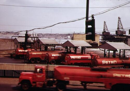 Allens Ave Providence Photo 1972-3 Petro Trucks Rhode Island