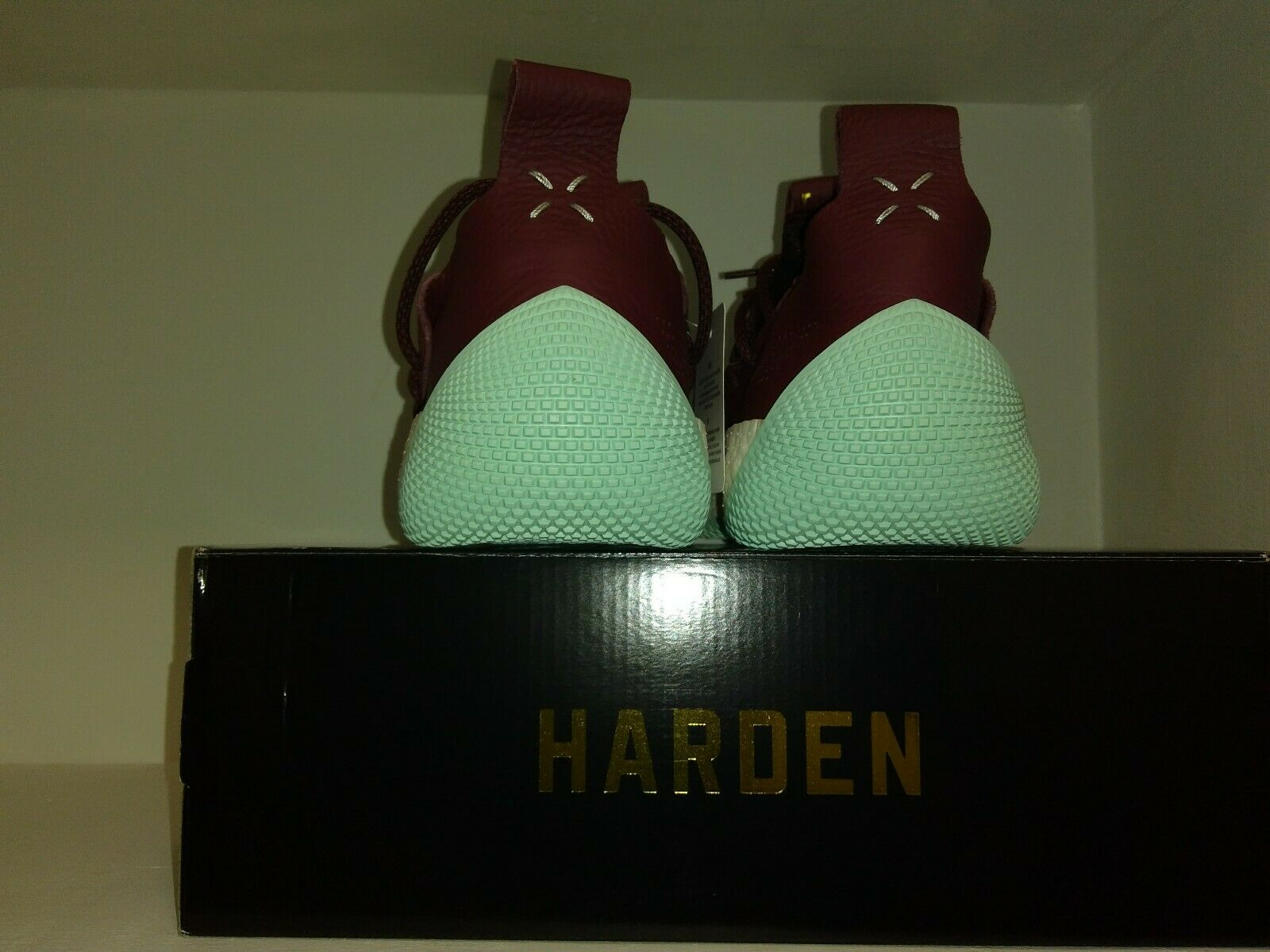 James Harden Adidas LS 2 Lace Maroon Men's Size 11.5 CG6277