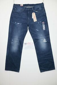 Levi-039-s-514-Straight-Adapte-Code-M1853-tg-50-W36-L30-Jeans-Neuf-Vintage-Bike