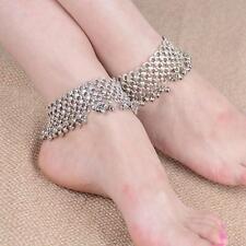 Retro Bells Tassel Ankle Bracelet Chain Anklet Foot Fashion Jewelry