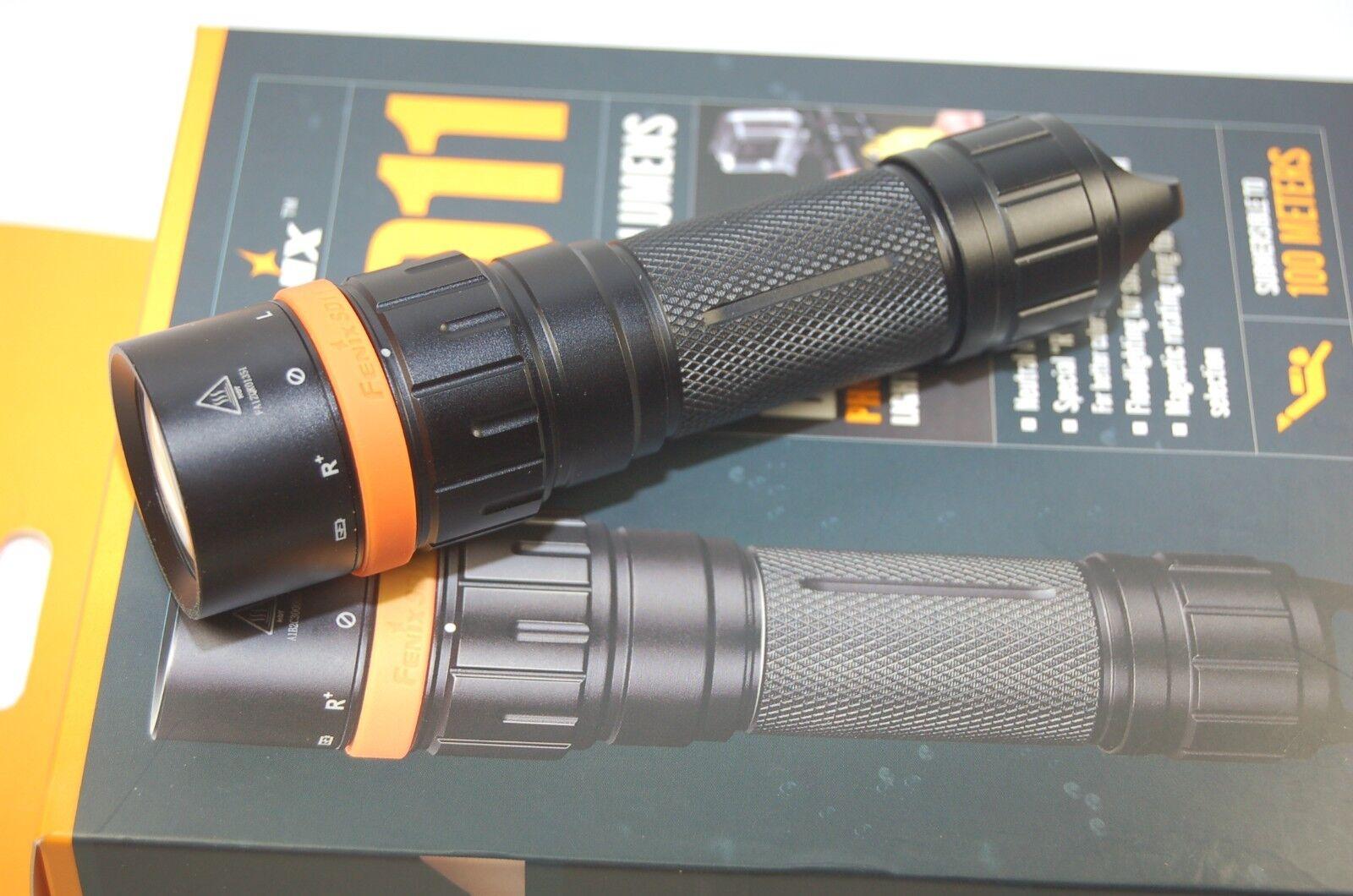 Fenix SD11 LED Taschenlampe 1000 Lumen 100m Tiefe Tauchen Outdoor Bushcraft