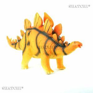 Weich-Schaum-Gummi-Stegosaurus-Dinosaurier-Pluesch-Spielzeug-Figuren-mit-Ton-48cm