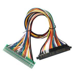 Jamma-Wire-Harness-28-broches-jamma-metier-pour-borne-d-039-arcade-accessoires-de-jeux-X2A7