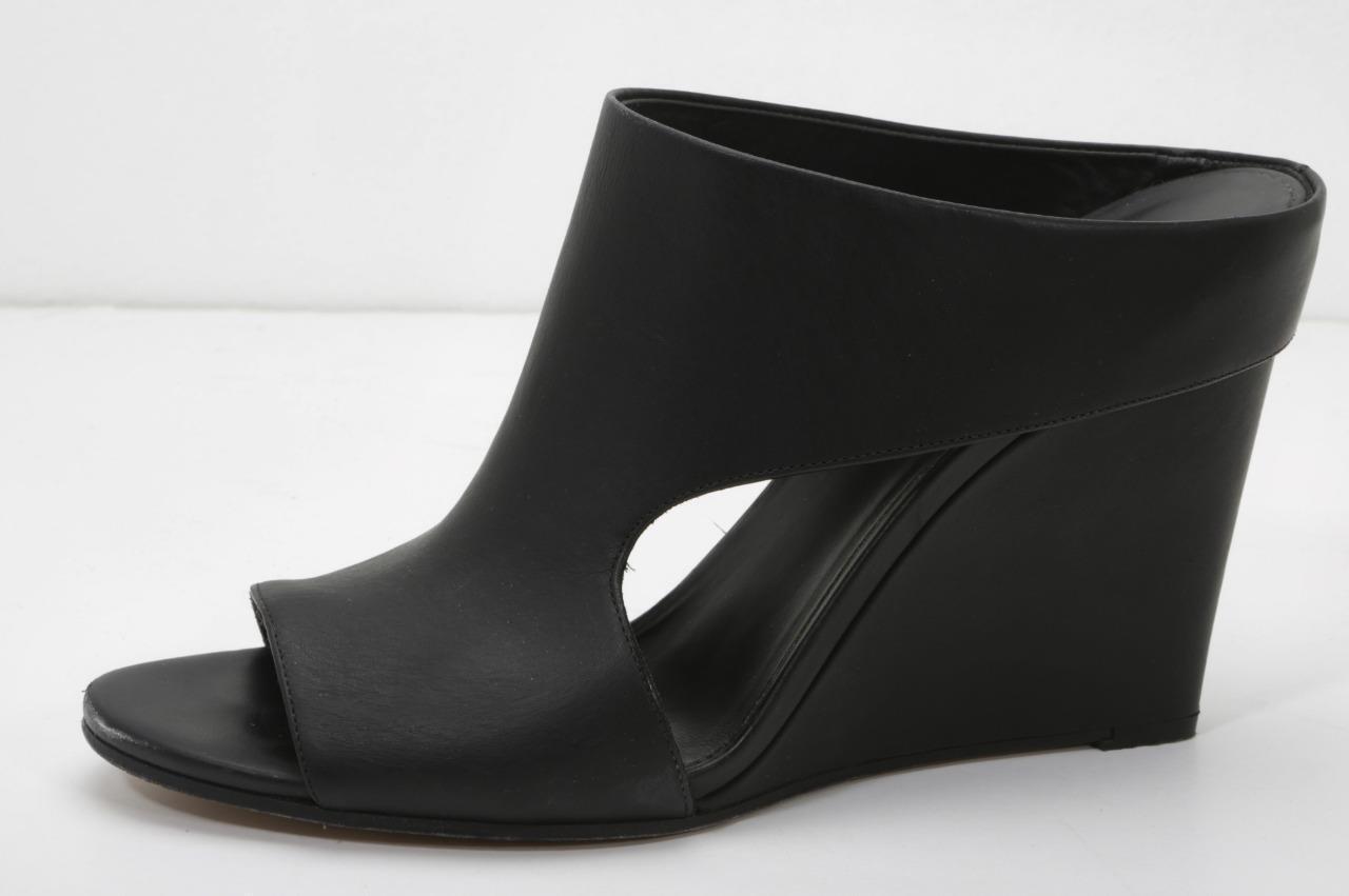 per offrirti un piacevole shopping online VINCE donna nero Leather Cutout Open-Toe Slip-On Wedge Pumps Sandals Sandals Sandals 10-41.5  più preferenziale