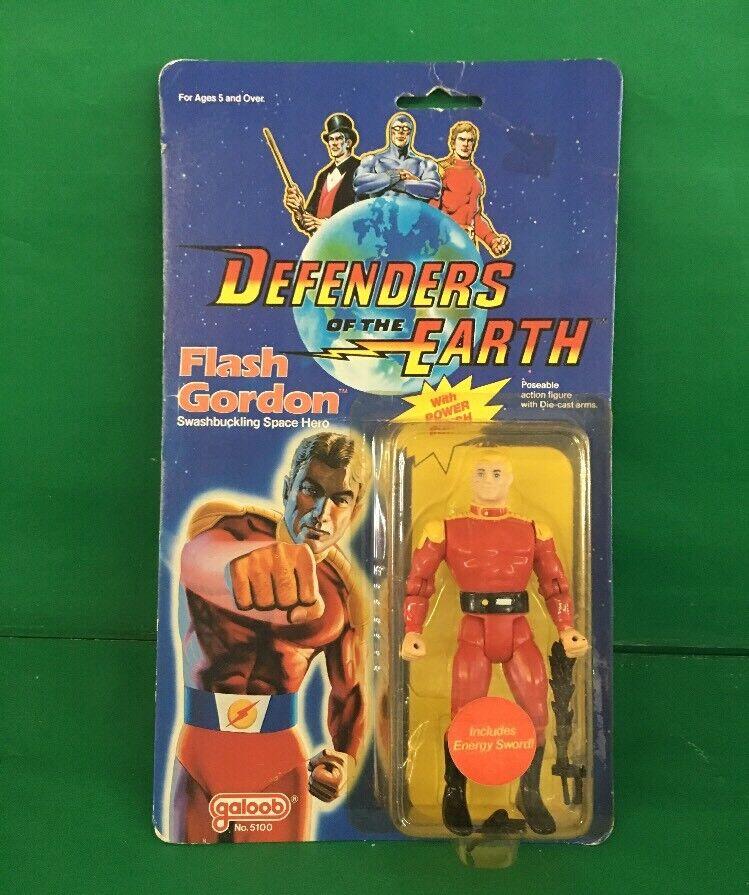 1985 Defenders Of The Earth Flash Gordon NIC No.5100byGaloob