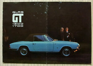 GLAS-1300-GT-amp-1700-GT-Car-Sales-Brochure-June-1966-GERMAN-TEXT