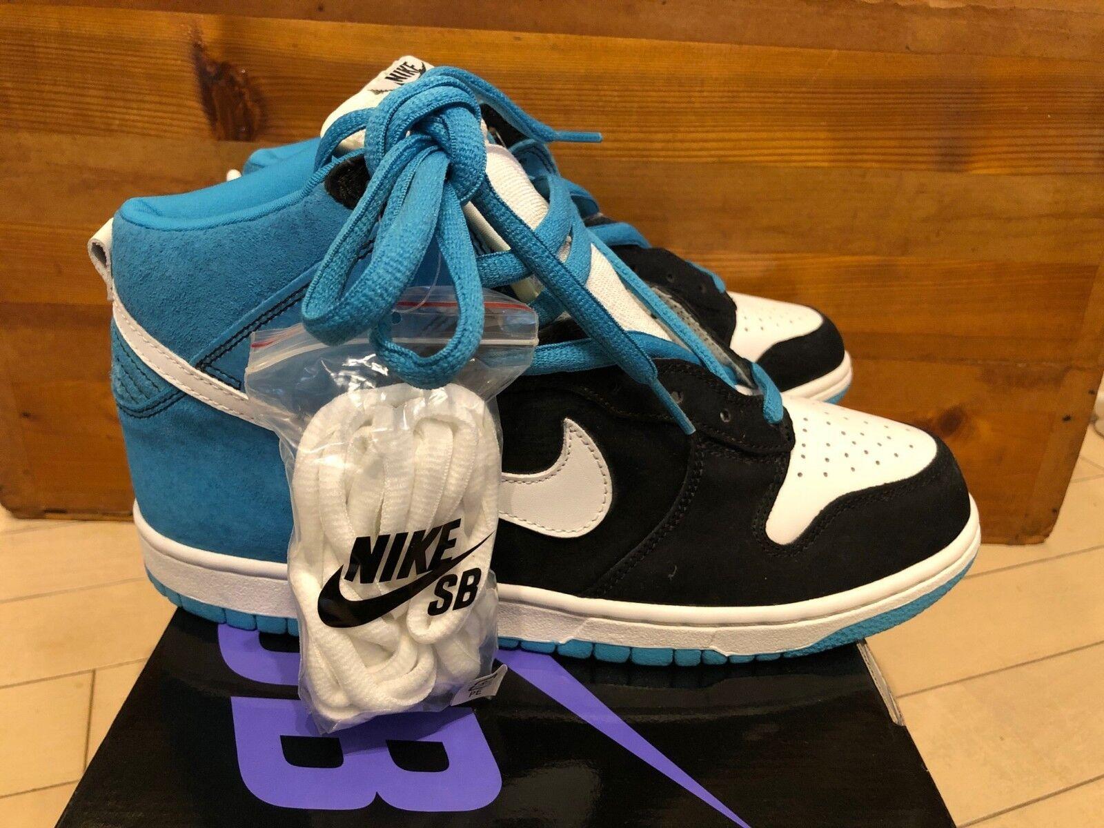 2006 Nike Dunk High Pro SB Send Help Black Reef White size 10