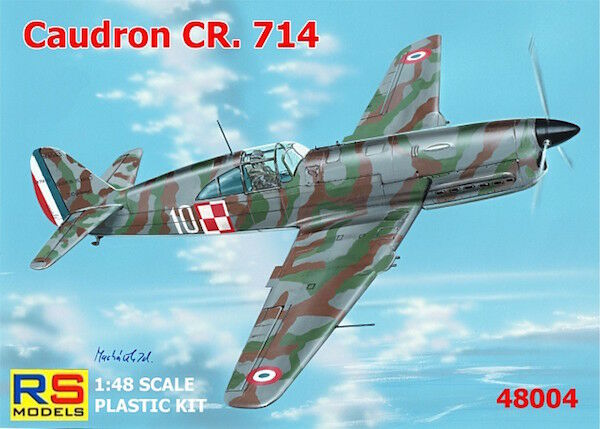 RS Models 1 48 Caudron CR.714C-1