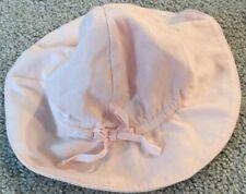 White Princess Crown Sun Beach Hat GAP Baby Girls Size 3-6 Months NWT Pink
