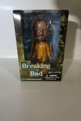 Breaking Bad Bobblehead Cochilando Walter White Heisenberg Amarelo HAZ Mat Mezco Novo