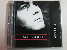 ACCESSOIRES VENDETTA 1995 CD ELECTRO SYNTH POP GERMAN IMPORT VERY RARE HTF OOP