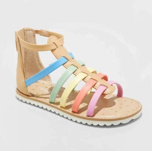 Toddler Girls/' Farrah Gladiator Sandals Cat /& Jack Blush Multi color