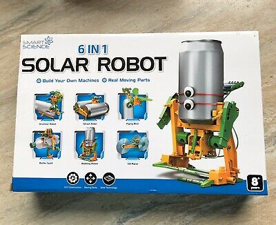 Educational Solar Robot Kit Smart Science 6 In 1 ...