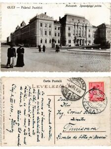 CPA-CLUJ-KOLOZSVAR-Palatul-Justitei-Igazsagugyi-Palota-ROMANIA-503035