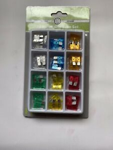 36 Pcs Standard Blade Fuse Assorted Kit Mixed Ideal For Camper/car/other