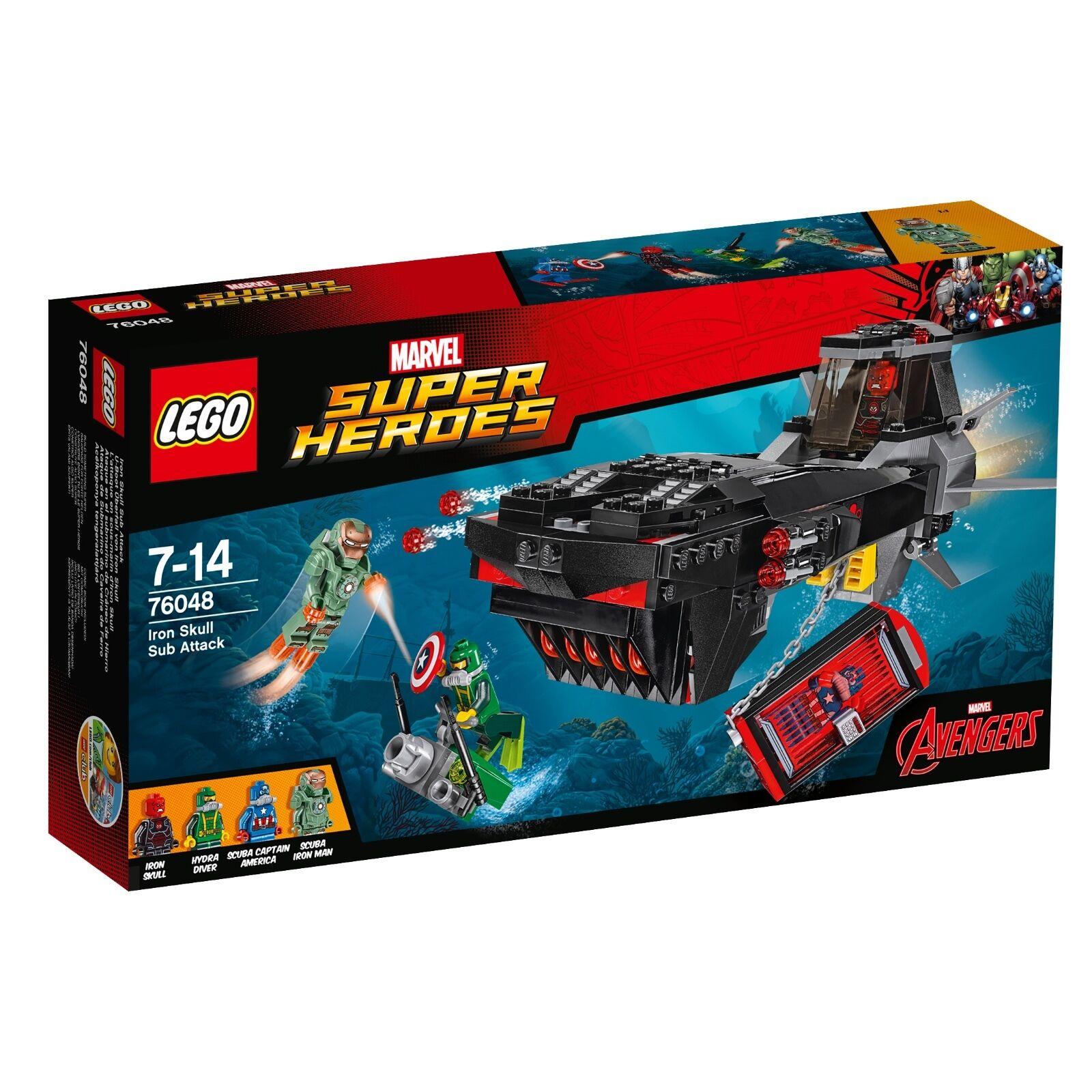 LEGO ® MARVEL SUPER HEROES 76048 U-avvio rapina di Iron SKULL NUOVO OVP NEW MISB