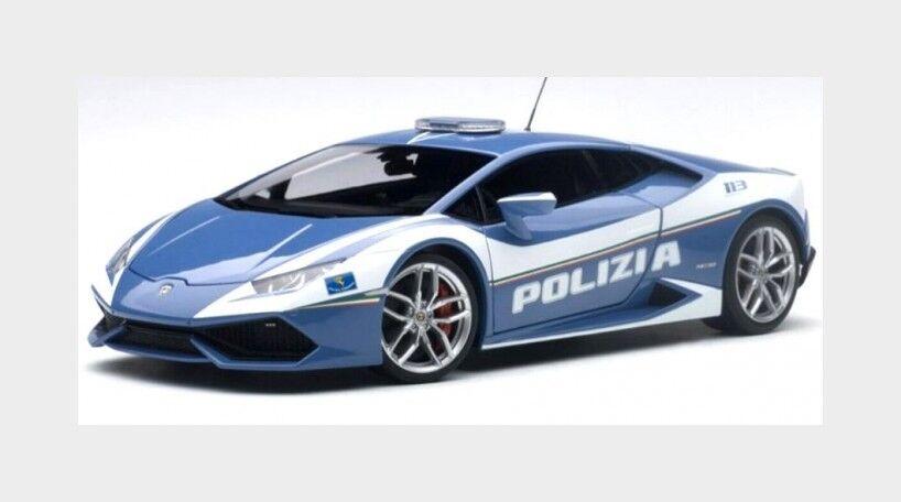 Lamborghini Huracan Lp610-4 Polizia Italiana 2014 Police AUTOART 1:18 AA74609
