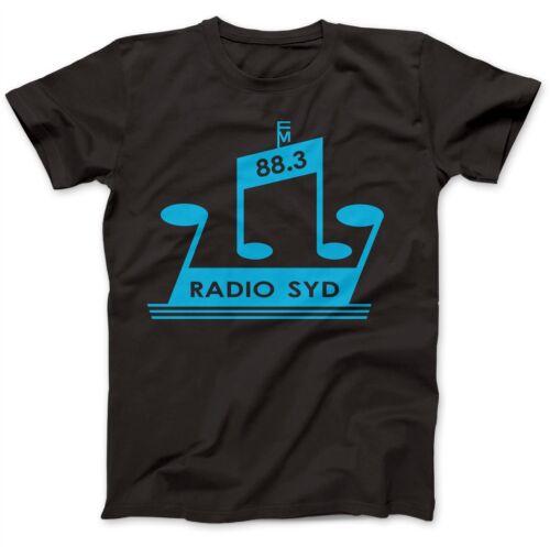 Radio Syd 88.3 comme porté par Brian Jones T-shirt 100/% Premium Coton pierres