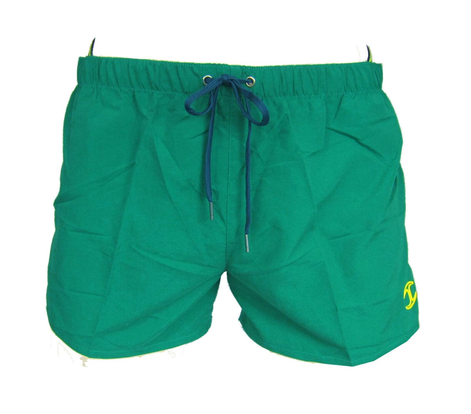 JUST CAVALLI  N10A921  Herren,Men,herren,Badehose,Shorts,NEU,Swimwear,Grün,Logo,%  | Haltbarer Service  | Mode-Muster  | Ausgewählte Materialien