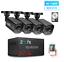 thumbnail 1 - AHD Outdoor CCTV 1080P Security Camera DVR Kit Waterproof HDD P2P HDMI