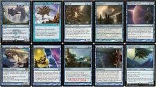 MTG Sea Monster (Blue) Deck - Quest for Ula's Temple, Grozoth, Leviathan - Magic