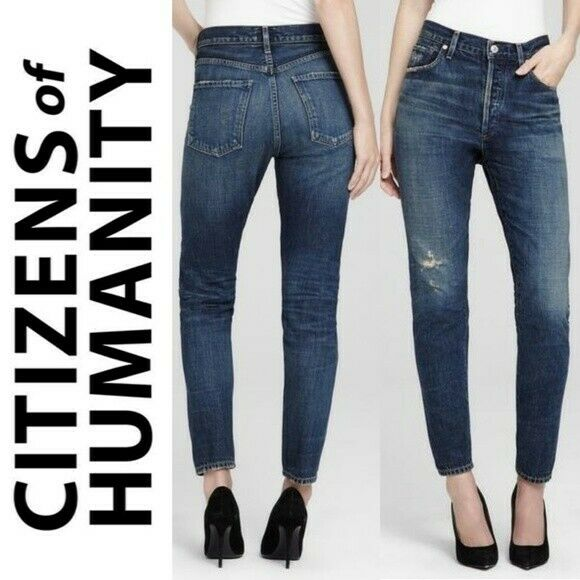 NWT  Citizens of Humanity Liya High Rise classic fit jeans Size 25