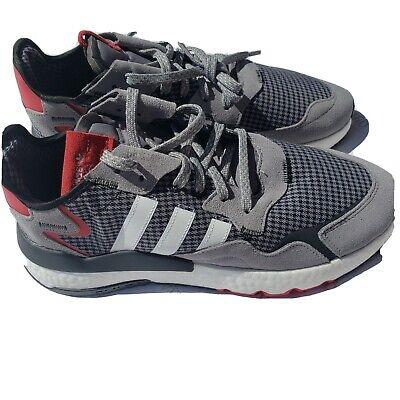 Adidas Nite Jogger size 11.5 Gray Black