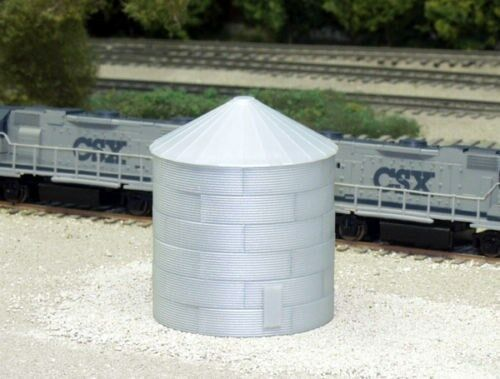 Rix #628-0703 Corrugated 30/' Grain Bin NIB N-Scale