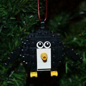 New Genuine LEGO Christmas Ornament Christmas Tree with Instructions
