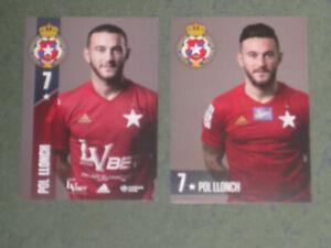 2x SPANIEN Pol Llonch (Wisla) Willem II Girona Espanyol  OHNE UNTERSCHRIFT