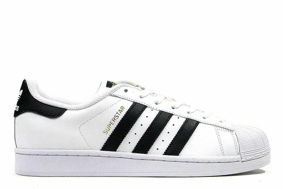 Adidas Superstar  White Black  Low