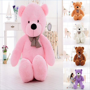 Large 60/80/100/120/140cm Teddy Bear Giant Teddy Bears Big Soft Plush Toys Kids