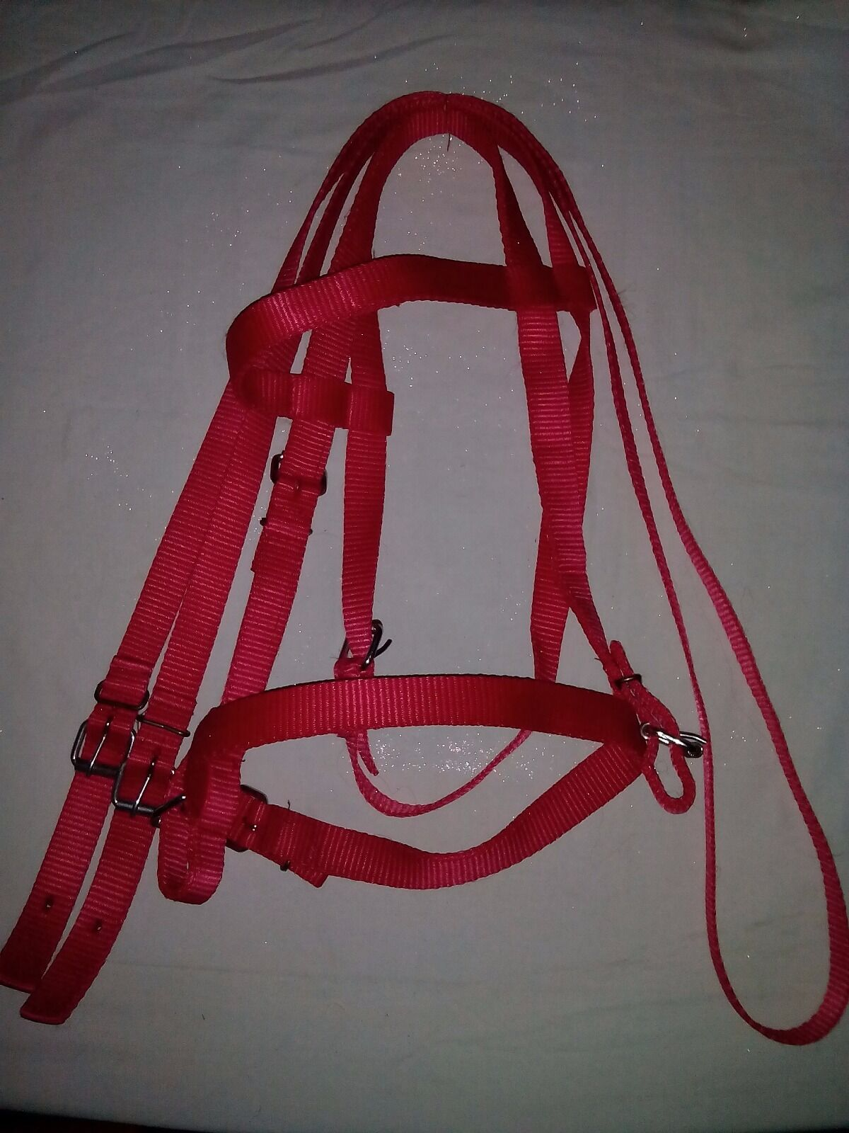 Breakable Nylon Bridle with Reins   special offer