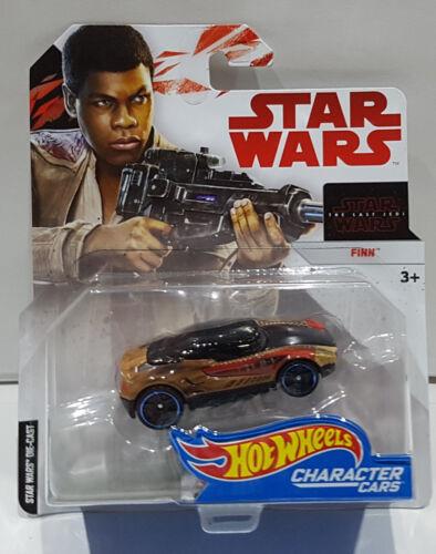 Hot Wheels character cars Star Wars The Last Jedi Finn fdj79