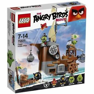 LEGO Angry Birds? 75825 Le Bateau Pirate du Cochon