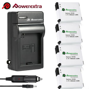4-Pack-AHDBT-001-Replacement-Battery-For-GoPro-HD-Hero2-Camera-AC-DC-Charger
