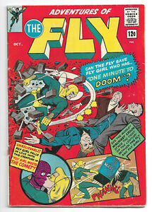Adventures-of-the-Fly-30-Radio-Comics-1964-Archie-Series-Fly-Girl-12-cents