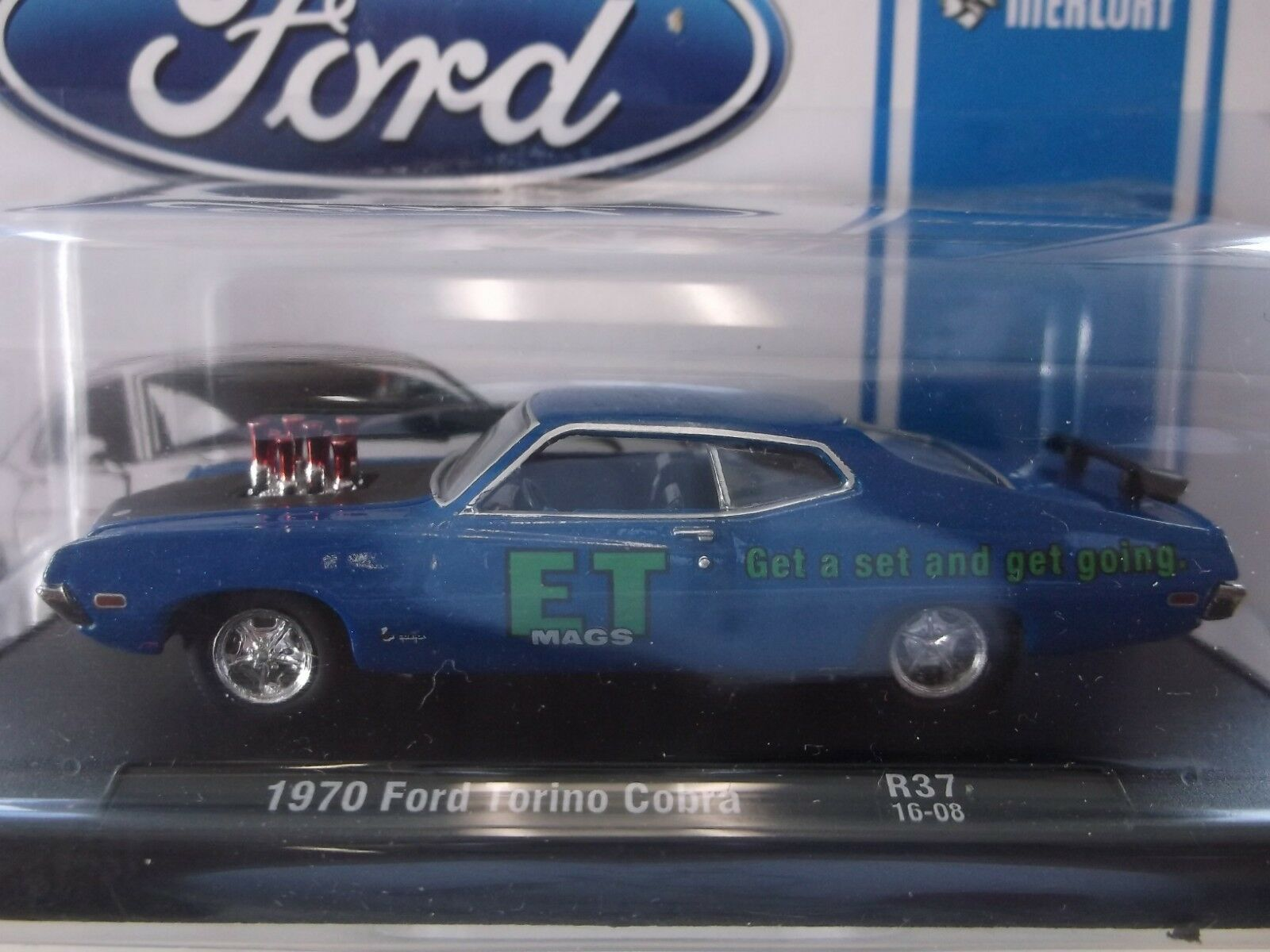 1970 Ford Torino Cobra New American Hot Rod Auto Drivers M2 Machines