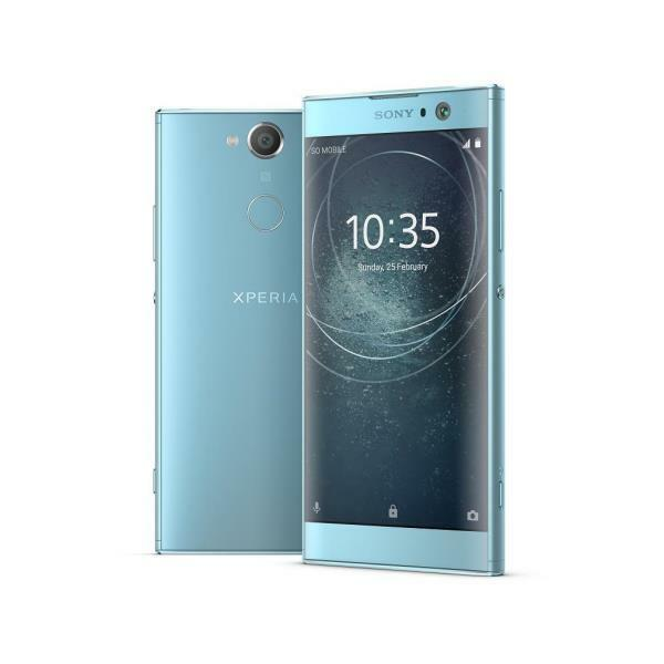 "SONY XPERIA XA2 2018 BLU 5,2"" 32GB RAM 3GB LTE 4G 23MP/8MP NO BRAND GAR. ITALIA"