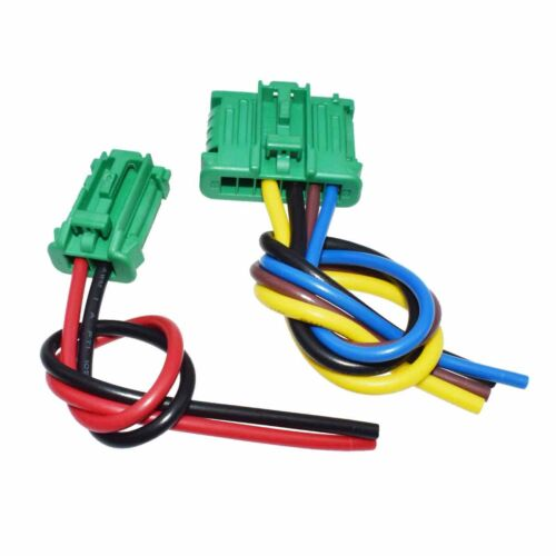 2Pcs Blower Motor Heater Resistor Wire harness For Nissan Tiida Renault  Peugeot