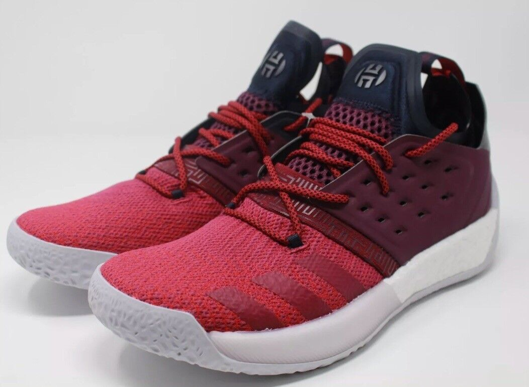 Adidas James Harden Volume 2 Vol. 2 Men's Basketball shoes Red - AH2124 Size 12