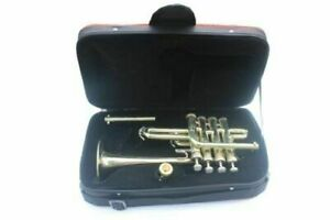 Buy-Piccolo-Trumpet-Nickel-Plated-4-Valve-with-Box-High-Quality-Shipping-Free